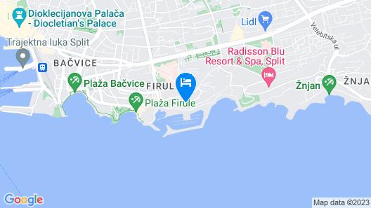 Ambassador Suite Map