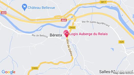 Auberge du Relais Map