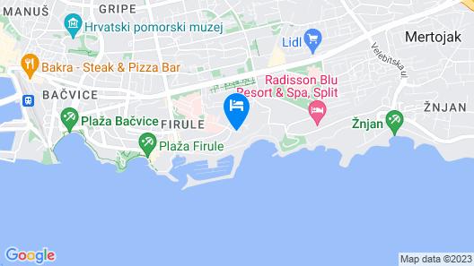 Adriatic Queen Villa Map