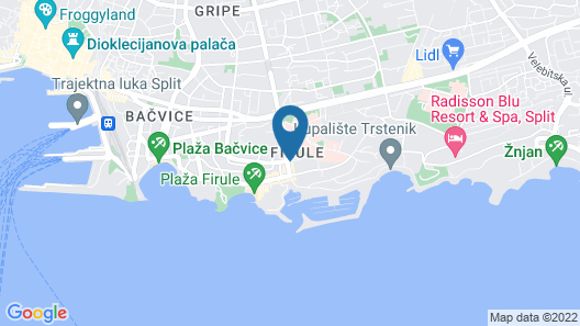Marvie Hotel & Health Map