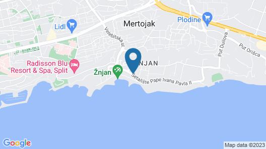 Amphora Hotel Map