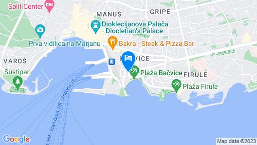 BRIIG BOUTIQUE HOTEL Map
