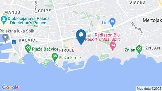 Hotel Pax Map