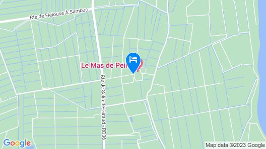 Le Mas De Peint Map