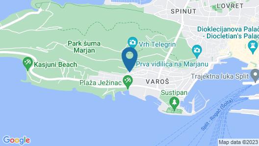 Hotel Cvita Map