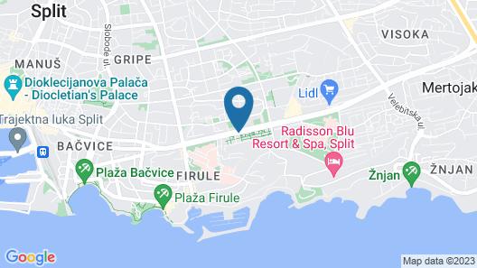 Hotel Ora Map