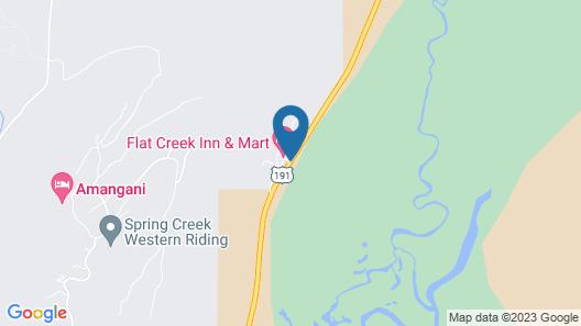 Flat Creek Inn Map