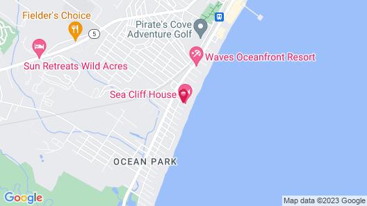 Sea Cliff House Motel Map