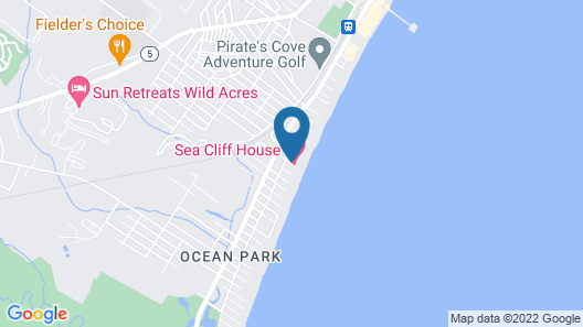 Sea Cliff House Motel Map