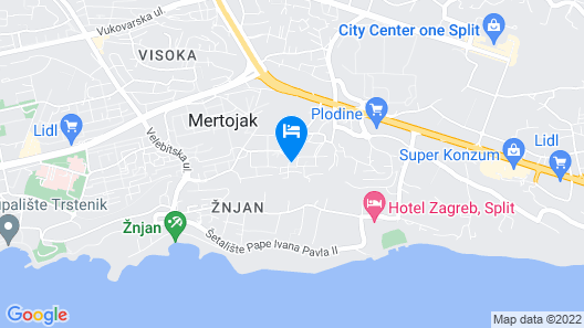 Villa M Map