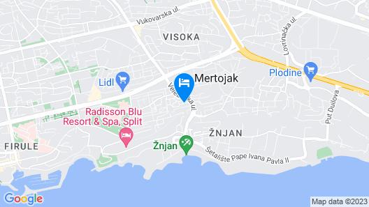 Apartments Cordis Map