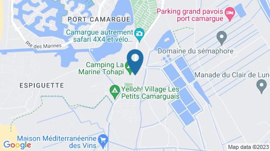 Domaine Résidentiel de Plein Air Odalys Elysée Map