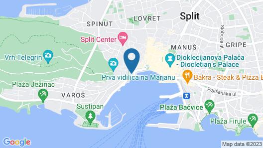 Galeria Valeria Seaside Downtown - MAG Quaint & Elegant Boutique Hotel Map