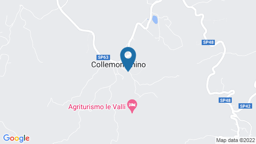 Agriturismo Le Valli Map