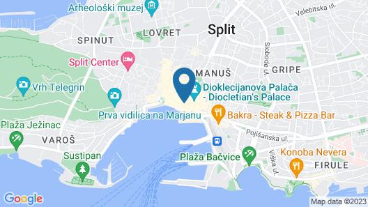 Plaza Marchi Old Town - MAG Quaint & Elegant Boutique Hotels Map