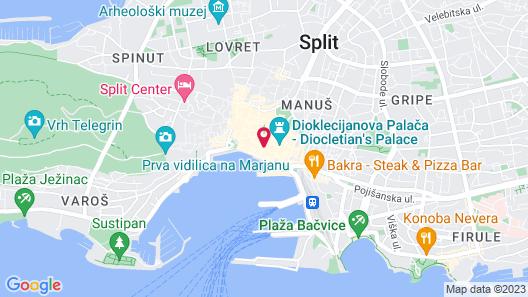 Kastel 1700 Boutique Hotel Map
