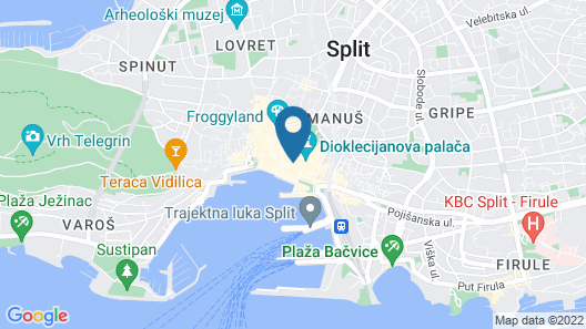 Hotel Slavija Map