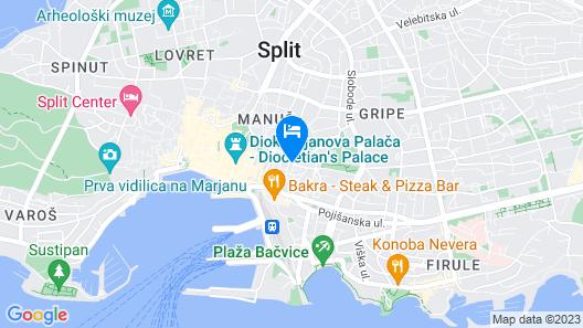 Splendida Palace Map