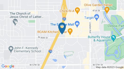 Residence Inn Sioux Falls Map