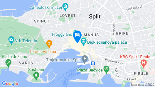 Judita Palace Heritage Hotel Map