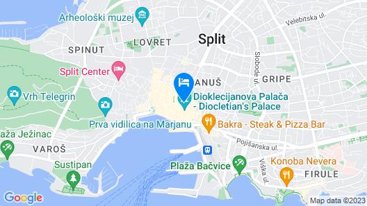 Salvezani apartments Map