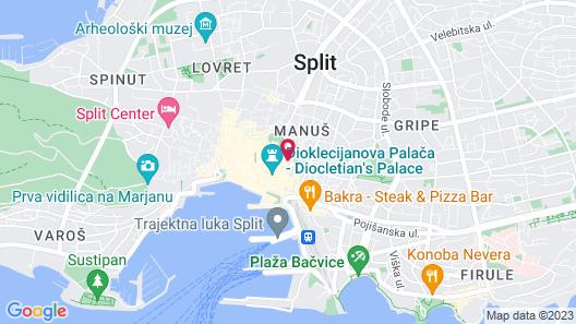 Pellegrini Luxury Rooms Map