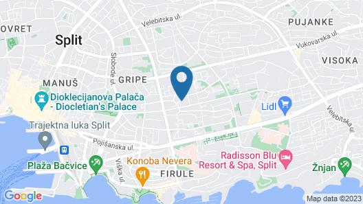 Dioklecijan Hotel & Residence Map