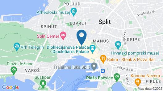Villa Olea 1 Map