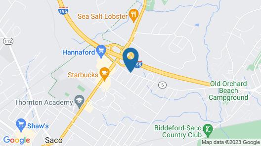 Exit 5 Motel & Cottages Map