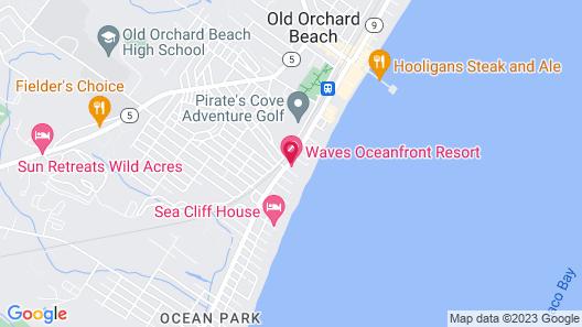 Waves Oceanfront Resort Map