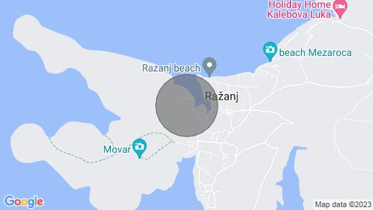 House Villa Sena (65391-K1) - Razanj Map
