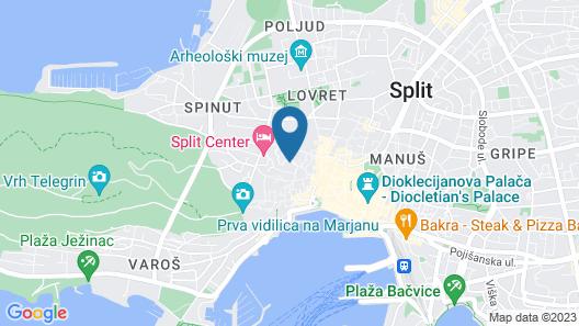 Vida Boutique Hotel Map