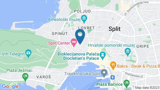 Divota Apartment Hotel Map