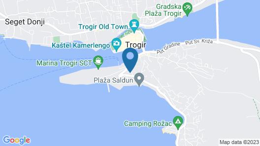 House Bakica Map