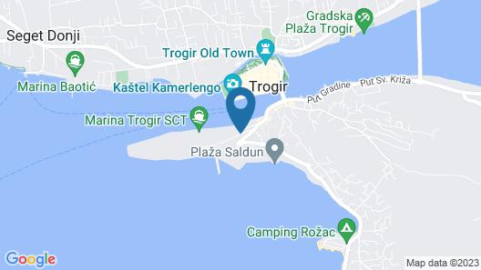 Villa Angel Map