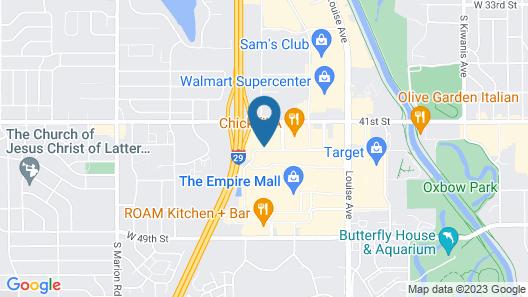 Courtyard by Marriott Sioux Falls Map