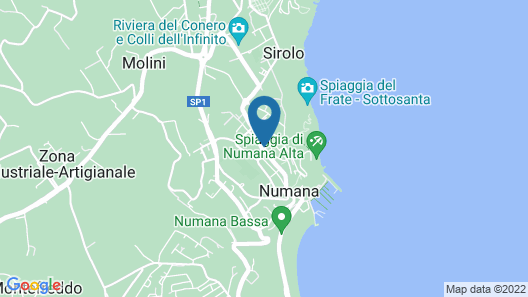 Residence Pesce Map