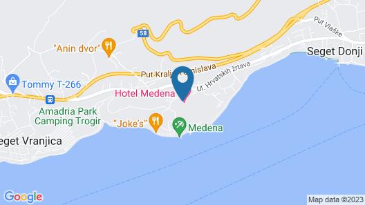 Hotel Medena Map