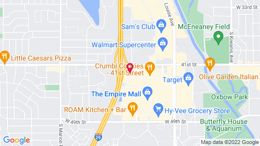 SpringHill Suites by Marriott Sioux Falls Map