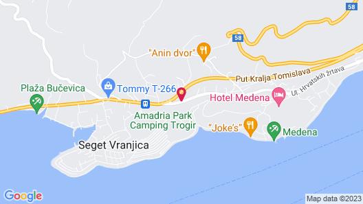 Aparthotel Astoria Map