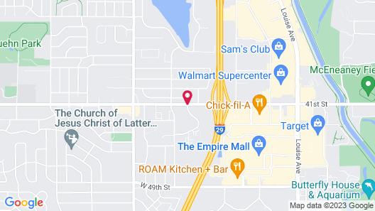 Days Inn by Wyndham Sioux Falls Empire Map