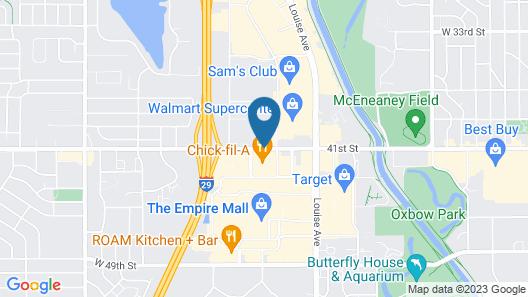 Super 8 by Wyndham Sioux Falls/41st Street Map