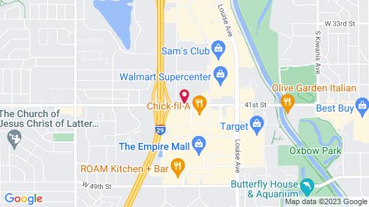 Red Rock Inn Map