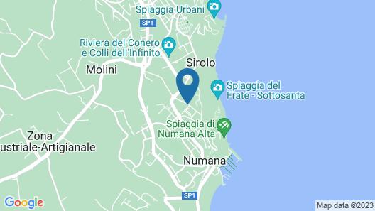 Villa Fernanda N167 N166 Map