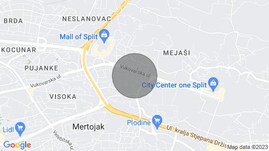 Apartment Matmar Map