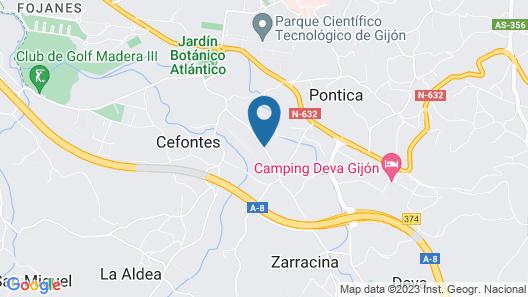 Hotel Quinta Duro Map