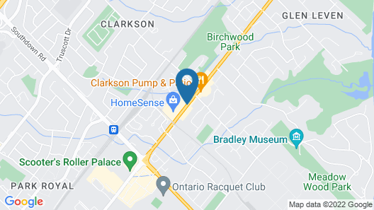 Clarkson Village Motel Map