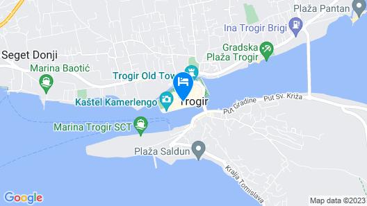 Hotel Villa Fontana Map