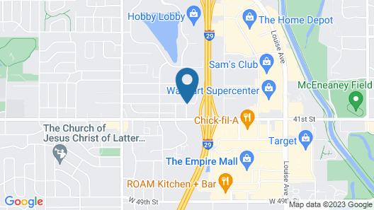 Baymont by Wyndham Sioux Falls Map