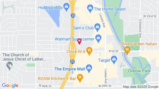 Quality Inn South Map